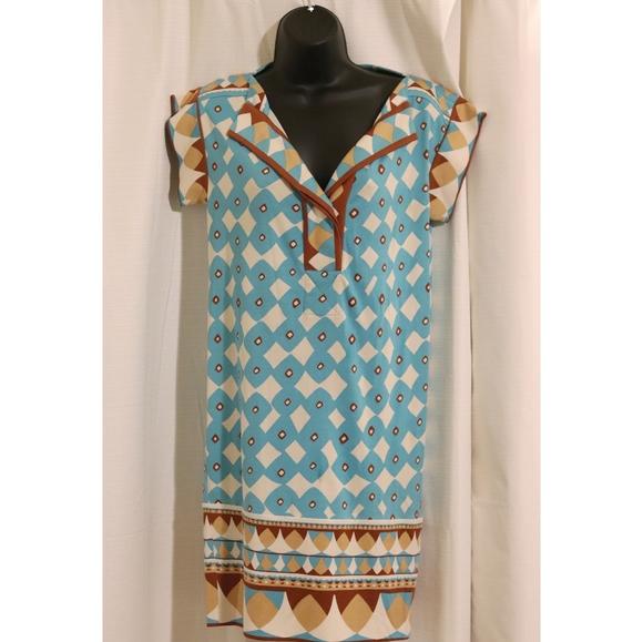 Diane Von Furstenberg Dresses & Skirts - Diane von Furstenberg | 100% silk 70's shift dress